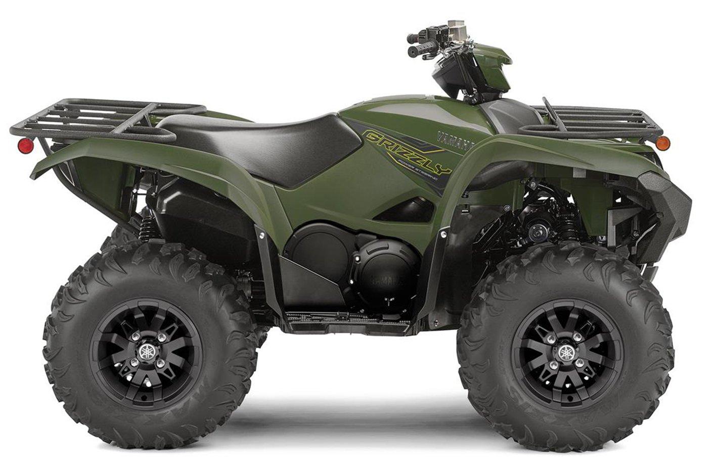 Квадроцикл YAMAHA Grizzly 700 EPS - Military Green '2020