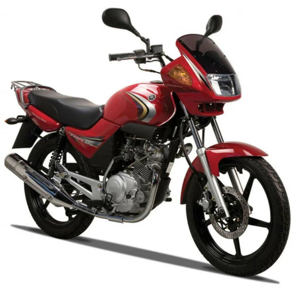 Мотоцикл YAMAHA YBR 125 - Ruby Red '2020