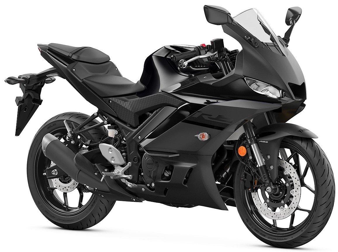 Мотоцикл YAMAHA YZF-R3 - Matte Black '2020