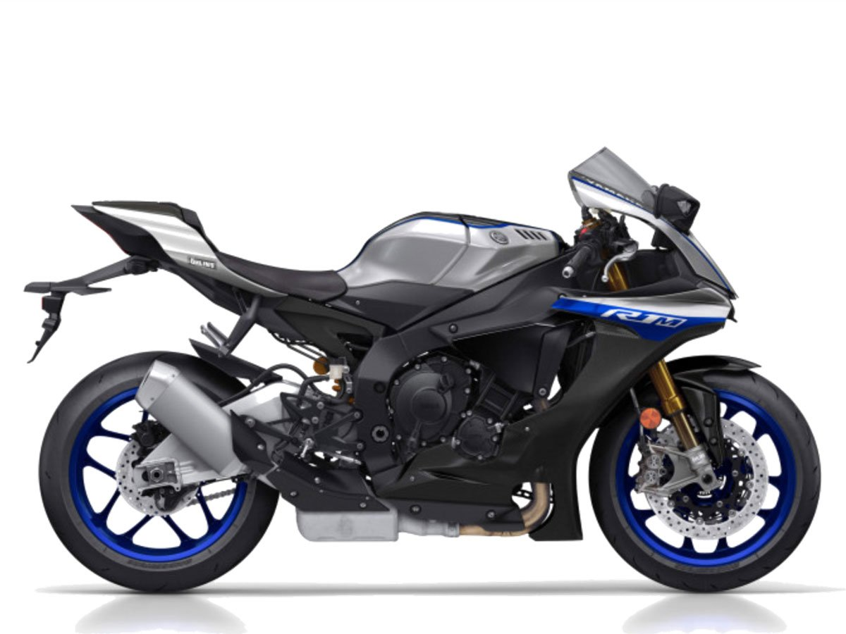 Мотоцикл YAMAHA YZF-R1M - Silver Blue Carbon (2019)