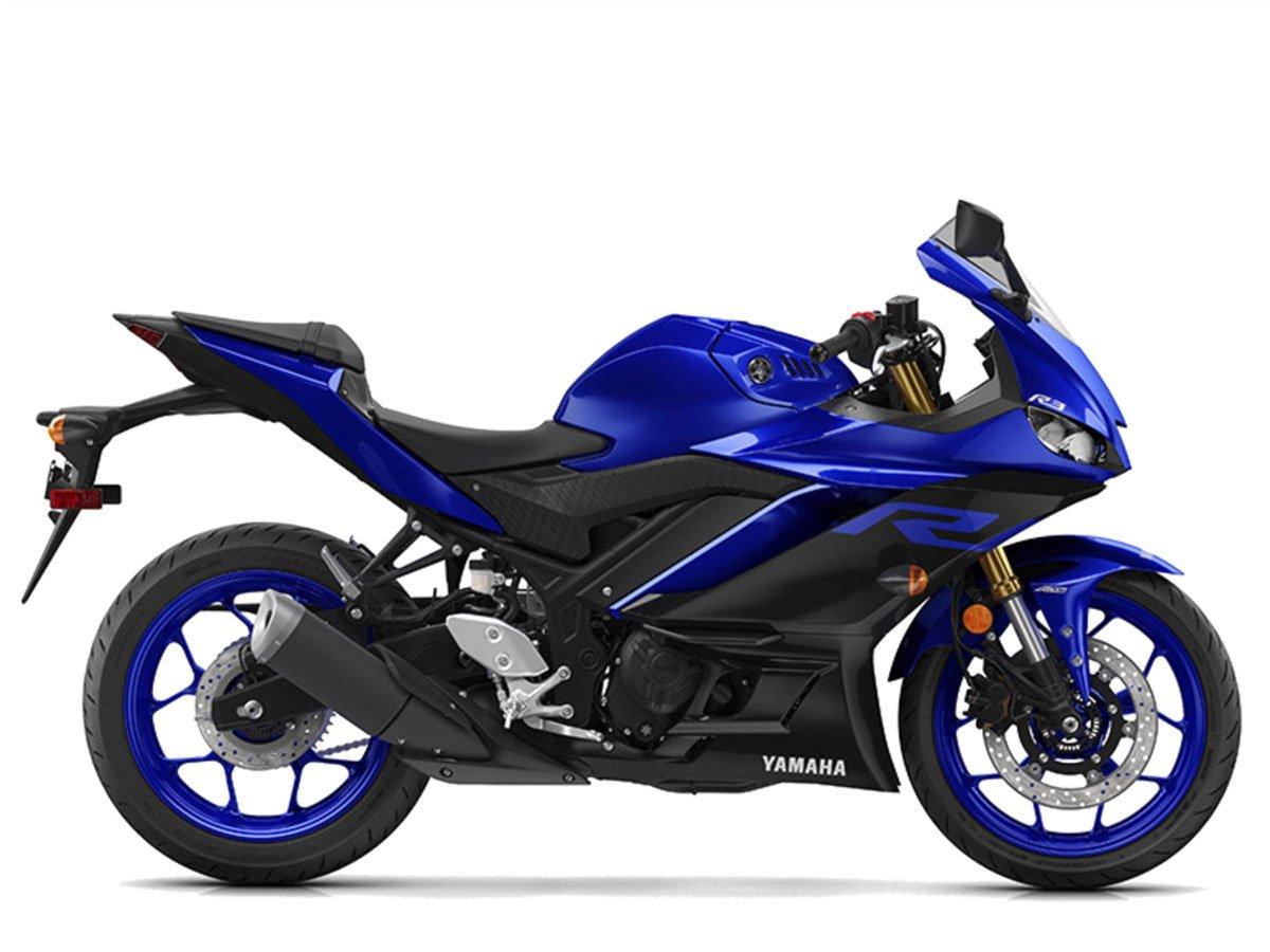 Мотоцикл YAMAHA YZF-R3 - Blue (2019)