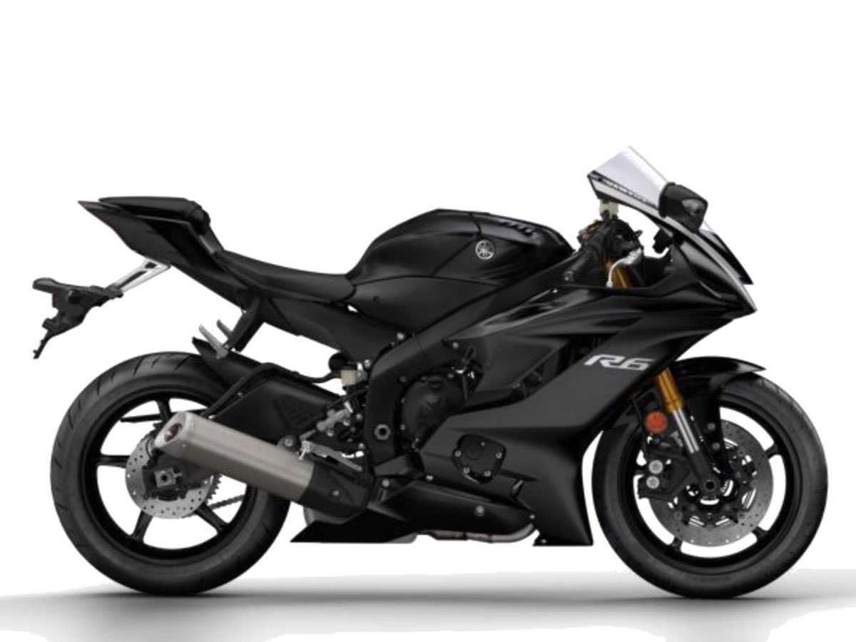 Мотоцикл YAMAHA YZF-R6 - Tech Black (2019)