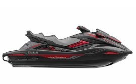 Гидроцикл YAMAHA FX Cruiser SVHO - Carbon Metallic with Torch Red '2019