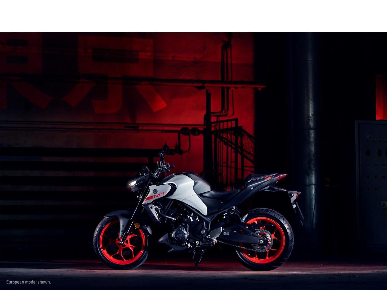 Мотоцикл YAMAHA MT-03 - Coin Gray '2020
