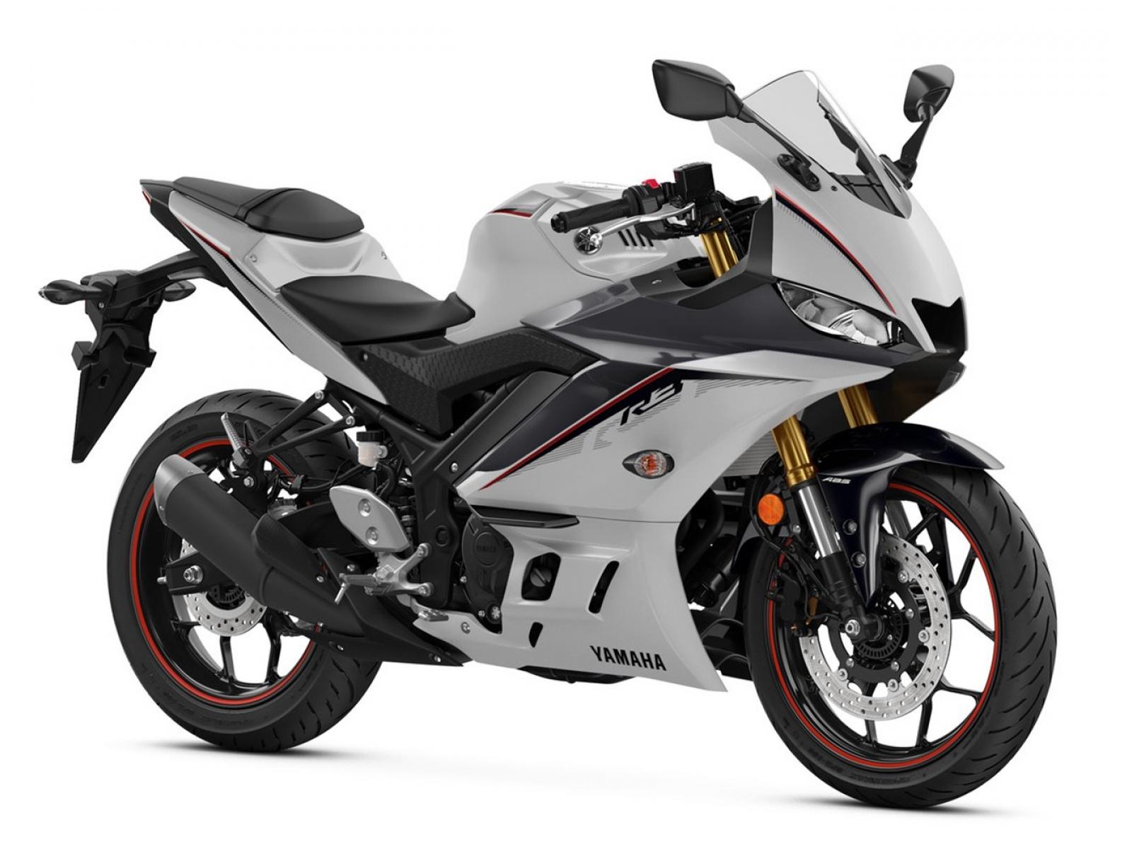 Мотоцикл YAMAHA YZF-R3 - Cloud Gray '2020