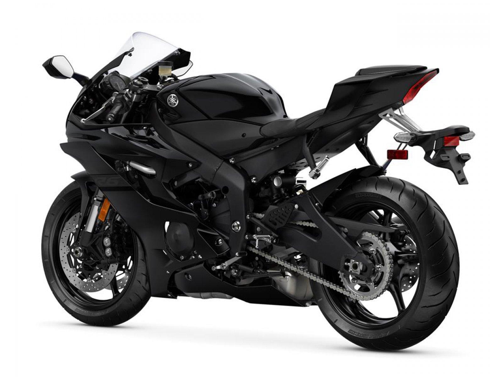 Мотоцикл YAMAHA YZF-R6 - Obsidian Black '2020