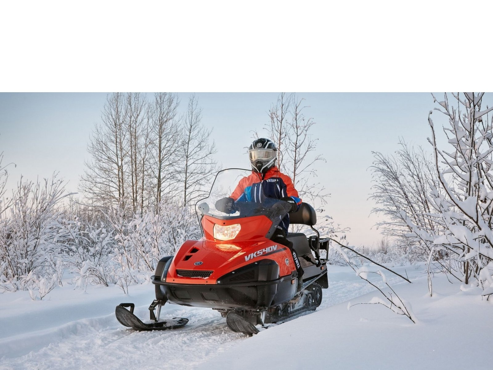 Снегоход YAMAHA VK540 V (Viking 540) - Tangerine Orange '2020