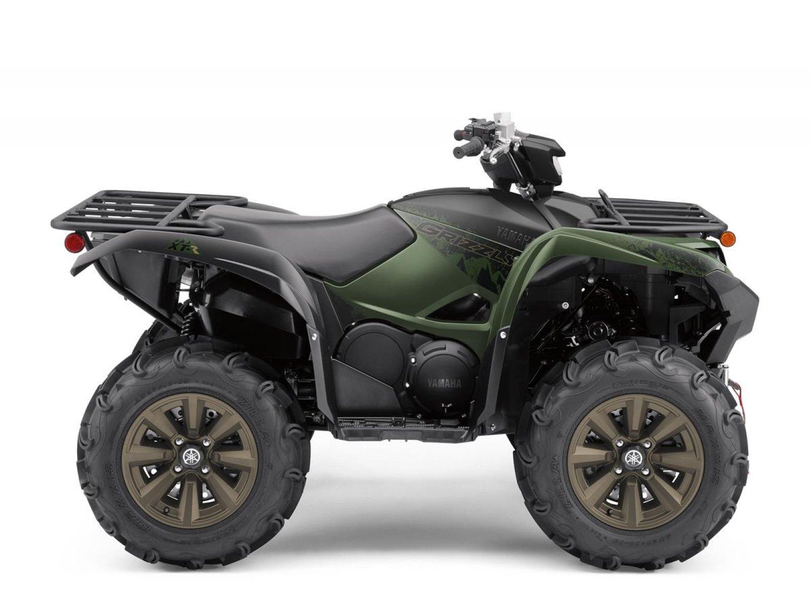 Квадроцикл YAMAHA GRIZZLY 700 EPS SE - Covert Green '2021