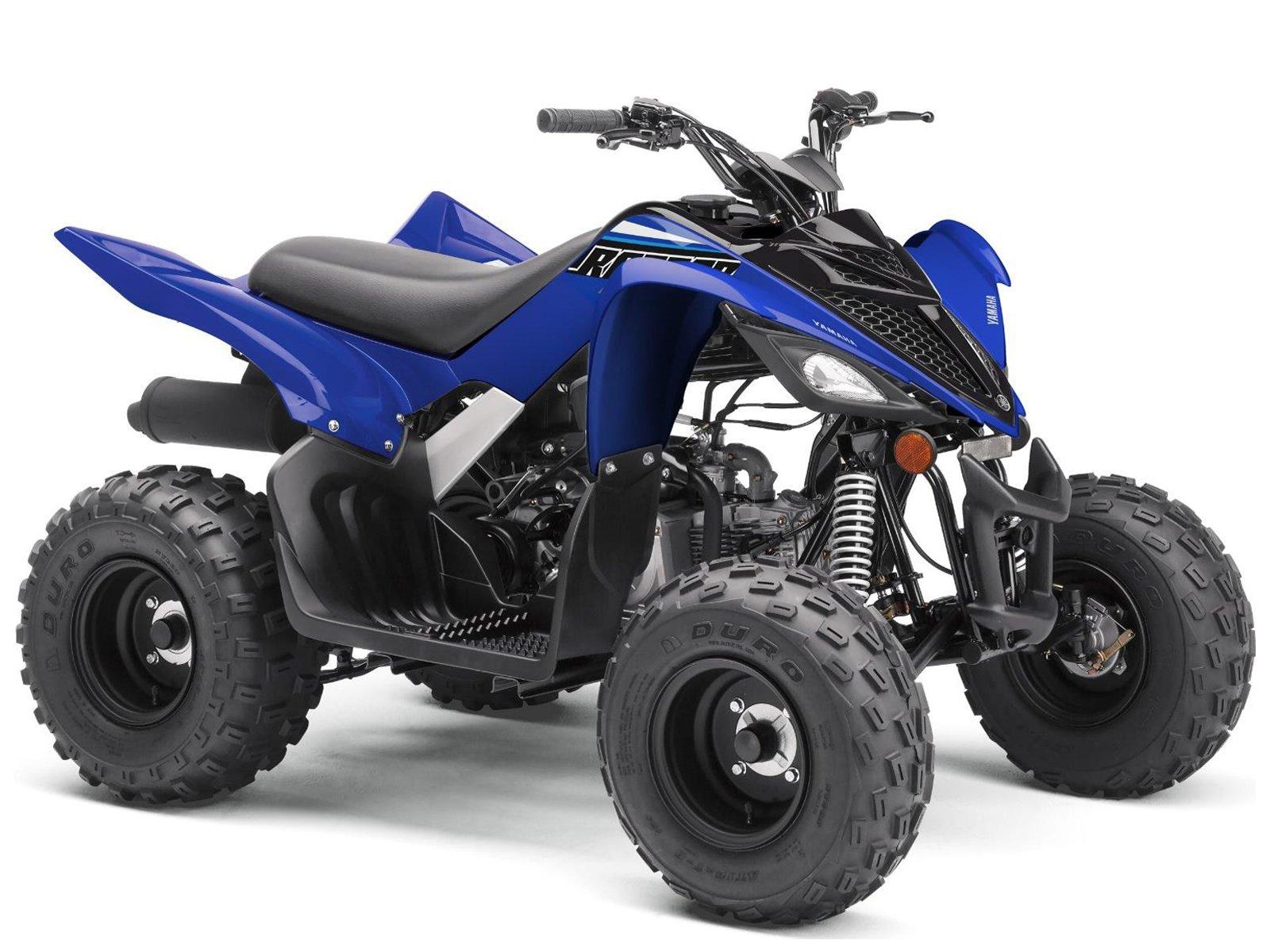 Квадроцикл YAMAHA YFM90R (Raptor 90) детский - Cobalt Blue '2021
