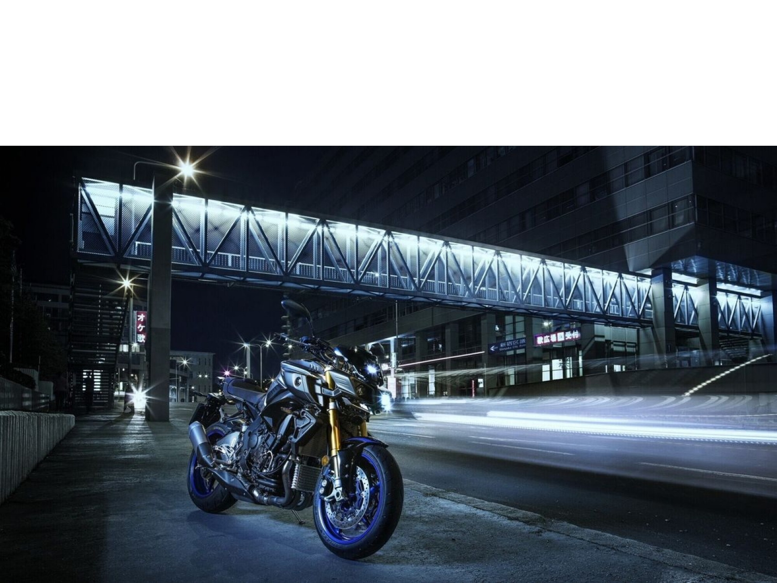 Мотоцикл YAMAHA MT-10 SP - Silver Blue Carbon (2019)