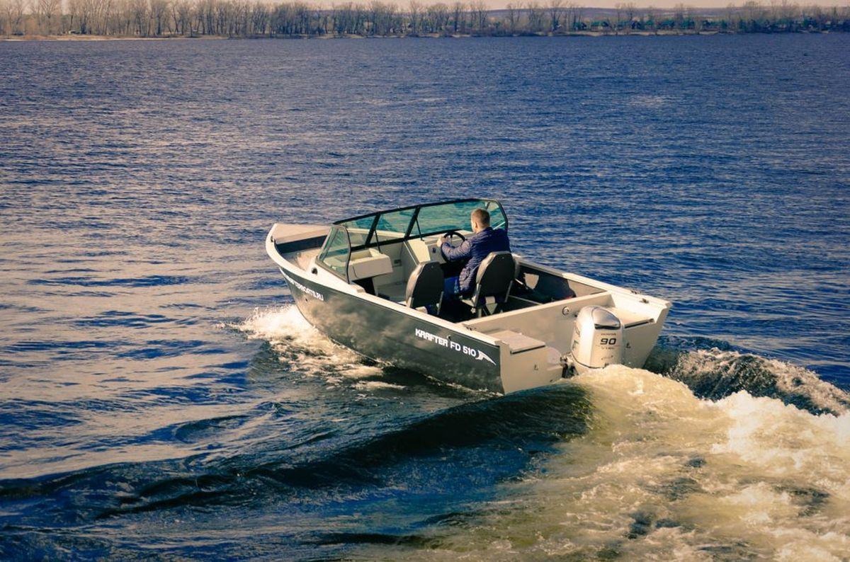 Лодка KRAFTER FishDeck 510