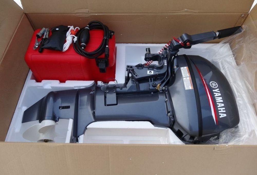 Комплект поставки 2-х тактного подвесного лодочного мотора YAMAHA 9.9 GMHS